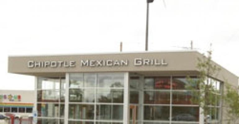 Chipotle unit earns highest LEED certification