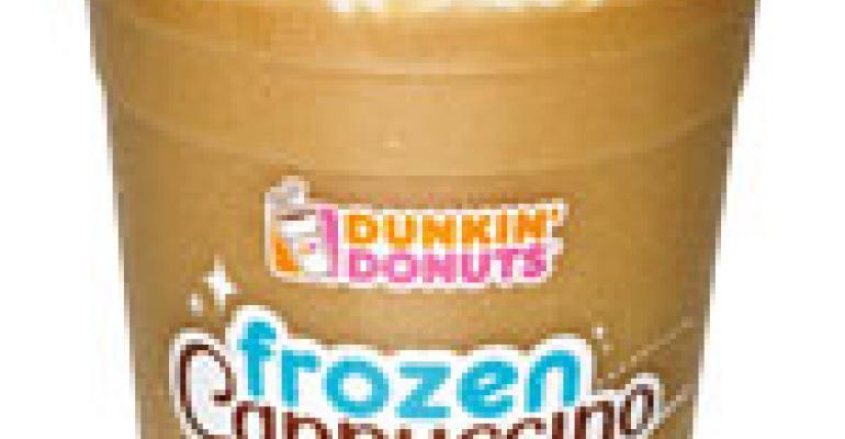 Dunkin' adds Frozen Cappuccino to drink menu