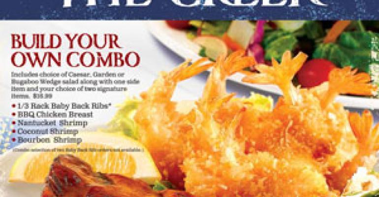 Bugaboo Creek revamps menu, offers customization