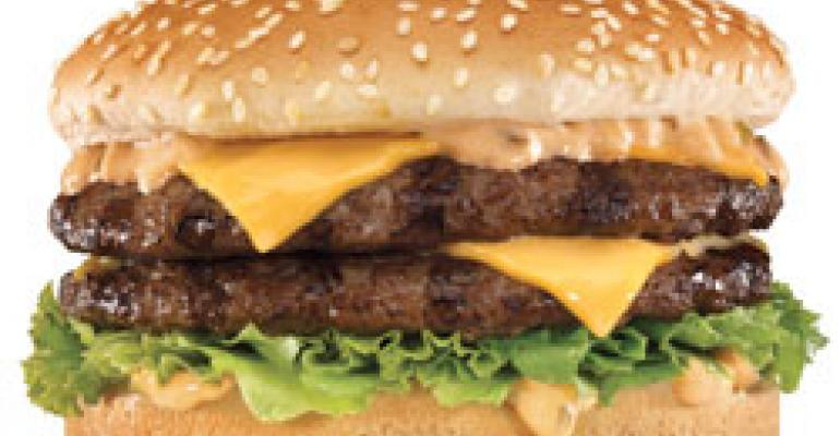 CKE takes on McDonald's in premium burger battle