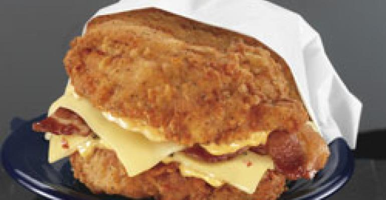 KFC confirms test of meaty Double Down
