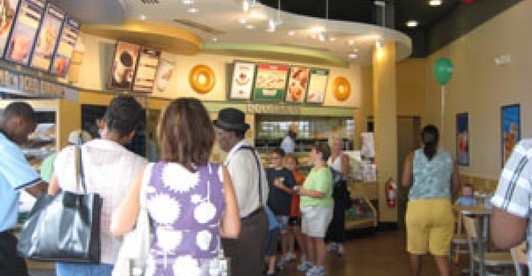 Krispy Kreme debuts smaller 'Neighborhood Shop' concept