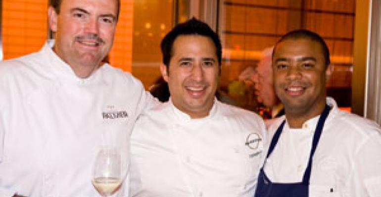 SLIDE SHOW: Charlie Palmer's Aureole reopens in NYC