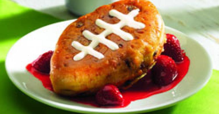 Restaurants seek sales touchdowns with football promos
