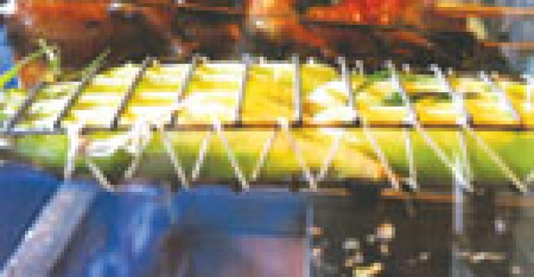 Rotisserie adds drama to Atlanta eatery