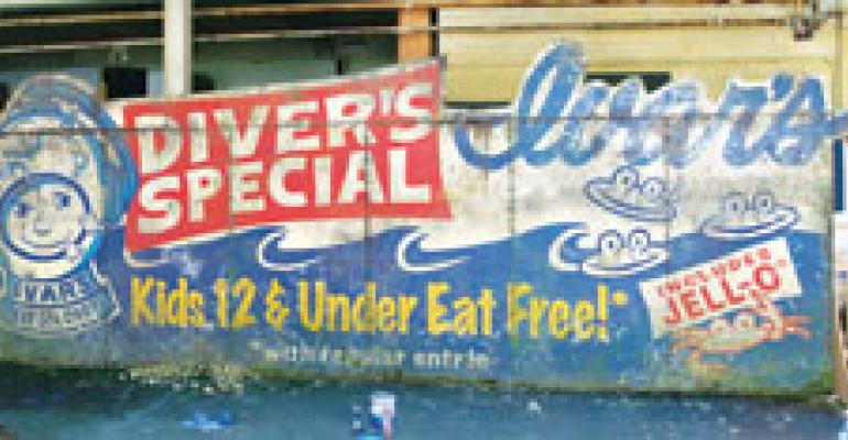 Ivar's comes clean over sunken-billboard promo