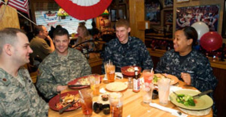 SLIDE SHOW: Restaurants honor veterans