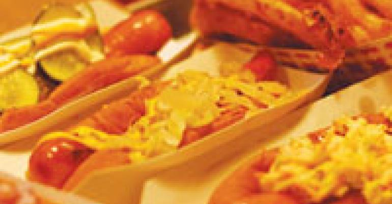 On the Menu: Bark Hot Dogs
