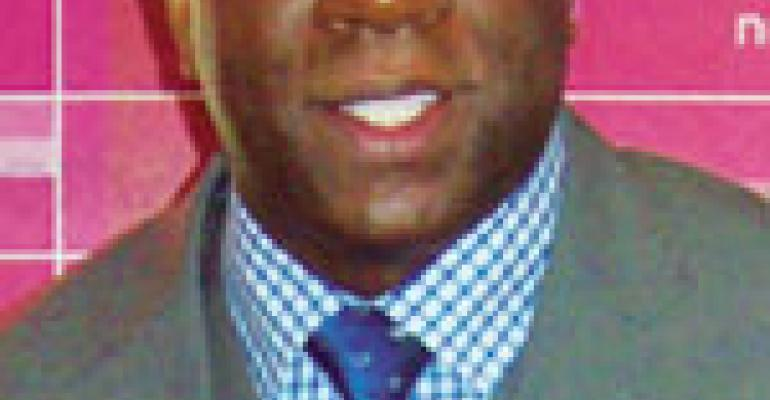 Magic Johnson jumps at the chance to grow contract business