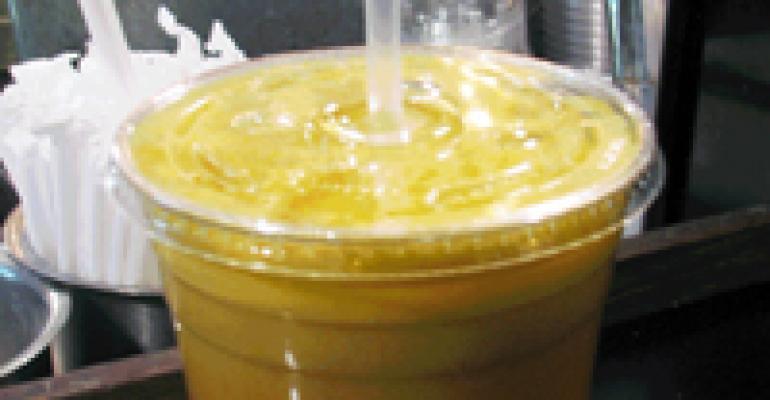 NRN Featured Beverage: Apple & Lemon Rind