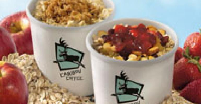 Caribou Coffee latest to offer oatmeal
