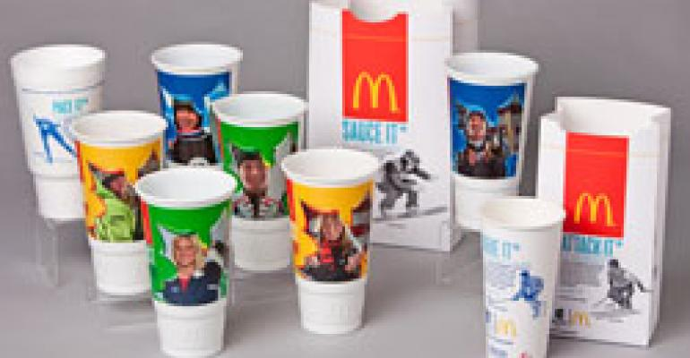 McDonald's gears up for the Olympics