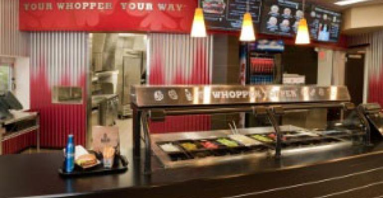 BK to sell beer at new Whopper Bar