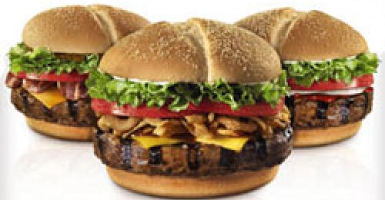 BK unveils premium burger line