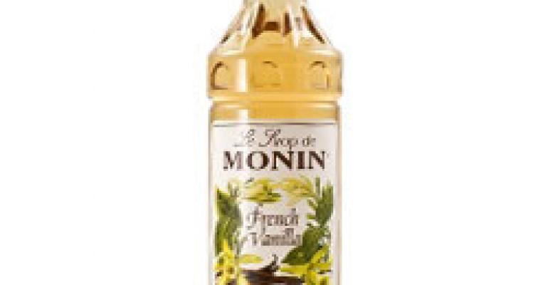 Monin Premium Syrups for Iced Coffee Beverages