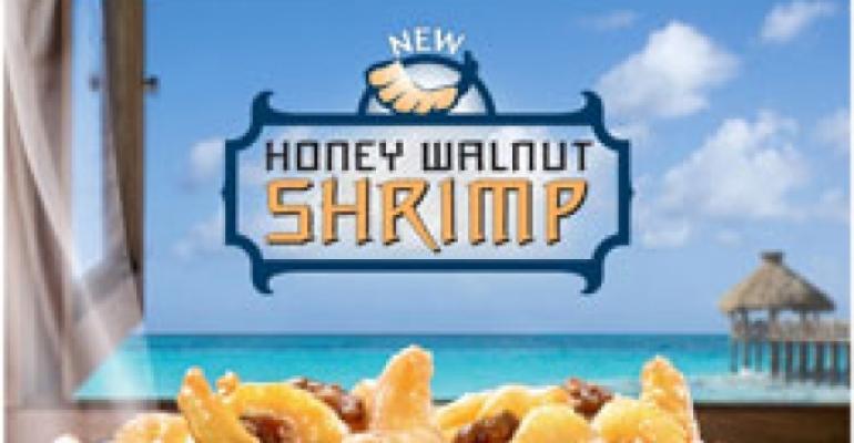 Panda Express to debut Honey Walnut Shrimp