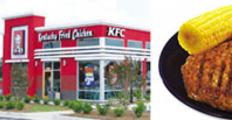 Best Healthful Menu Innovation: KFC