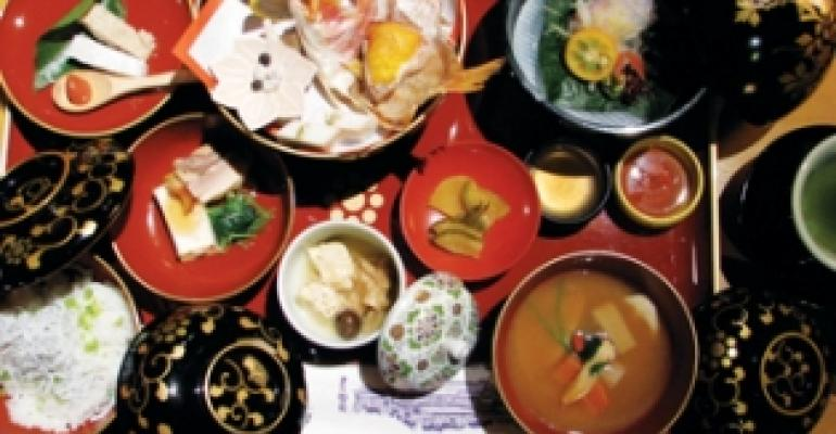 Palace restaurant gives guests a taste of Japanese history