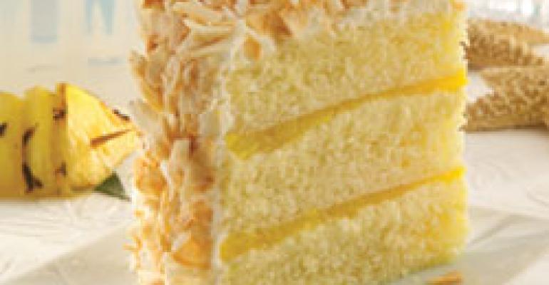 Sweet Street Desserts Pina Colada Cake: A Slice of Paradise.