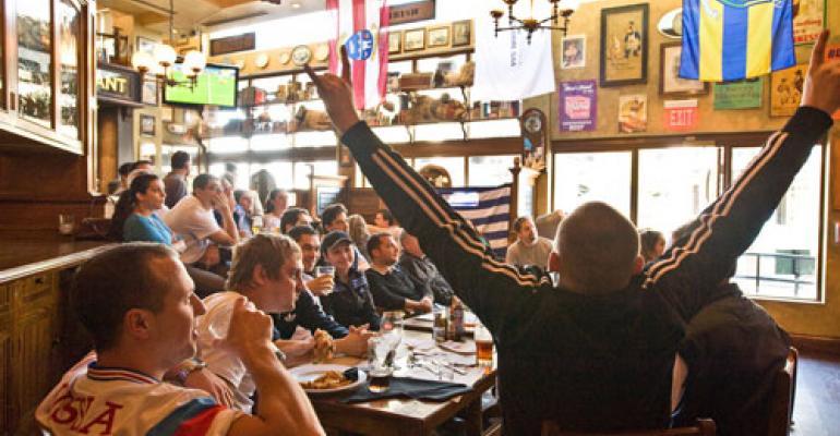 Restaurants look to score sales goals during World Cup