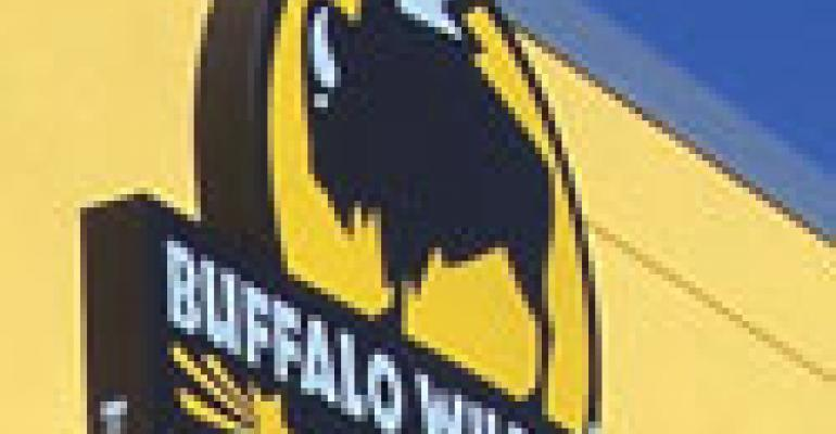 Heard on the call: Buffalo Wild Wings