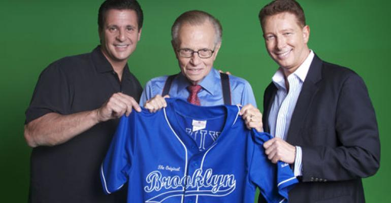 Larry King signs on with bagel brand