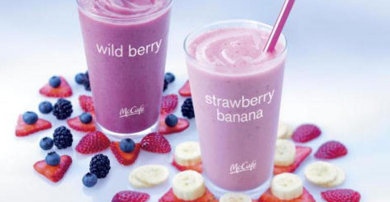 McDonald's to hand out free smoothie samples