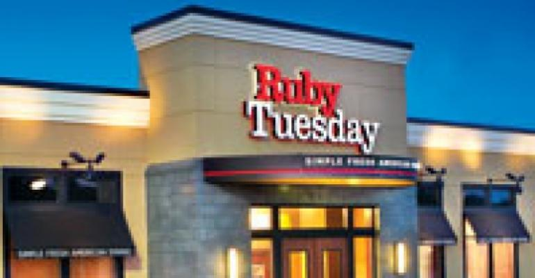Ruby Tuesday to convert some units to other brands