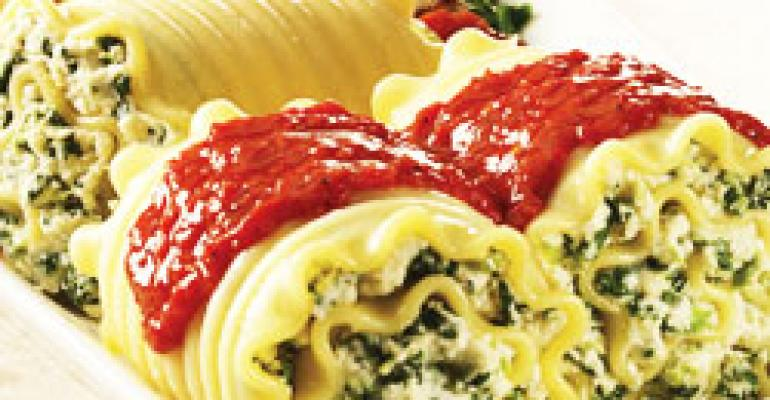 Florentine Supreme Lasagna Roll-Ups from Bernardi Foods