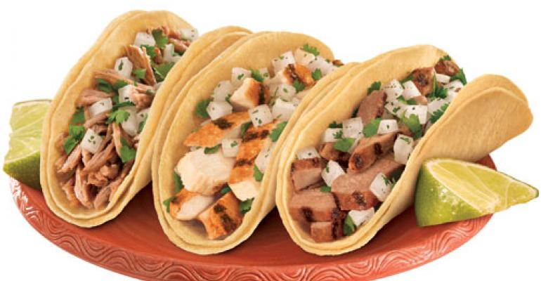 Taco Bell adds street-food-inspired tacos