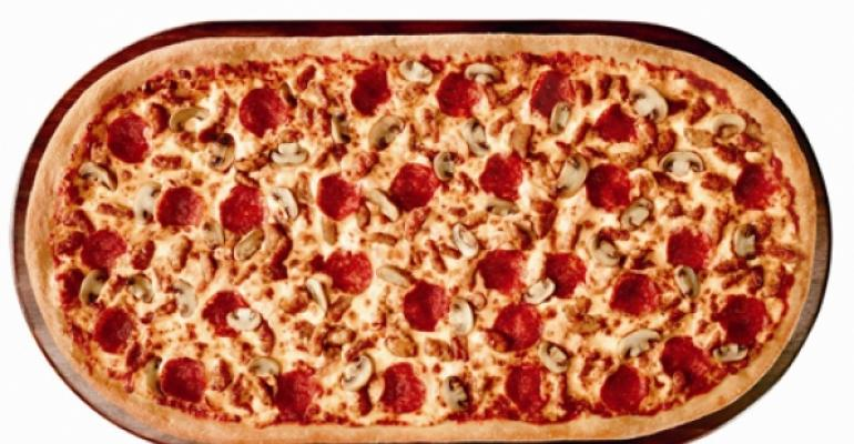 Pizza Hut offers 2-foot-long pizza