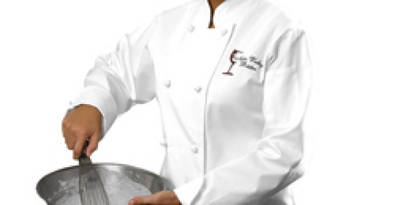 Women's French Knot Chef Coat, as low as $13.95