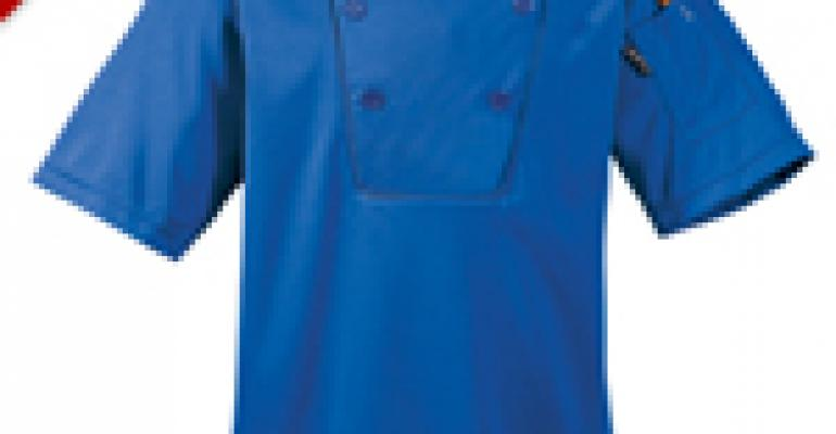 Performance Knit Chef Coat made with CoolPass Moisture Wicking Fabric, only $14.75