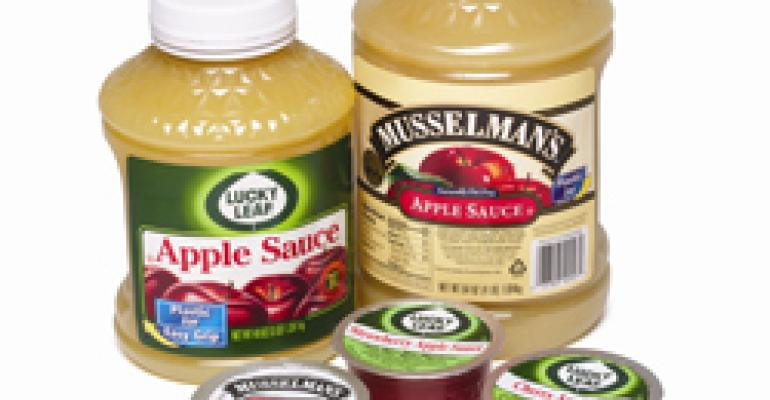 Apple Sauce from the apple experts at Knouse Foods
