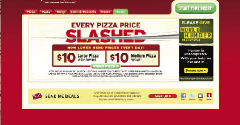 Pizza chains deal with rising commodities prices