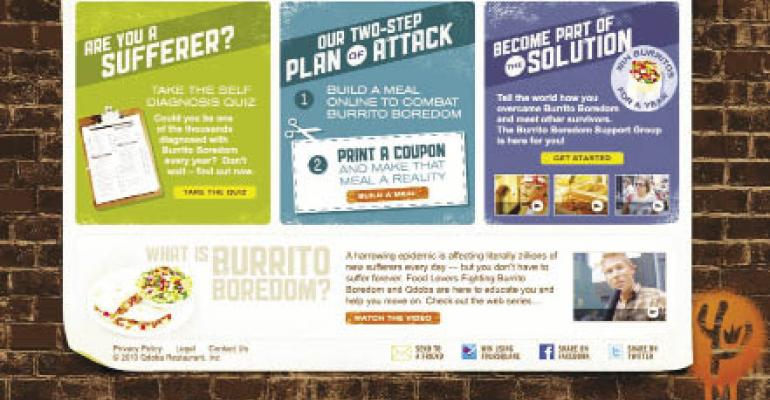 Qdoba calls 'Burrito Boredom' campaign a successful operation
