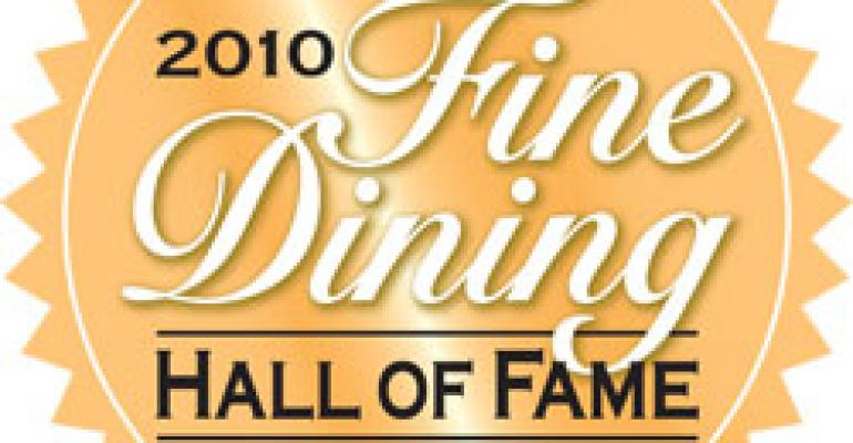 2010 Fine Dining Hall of Fame