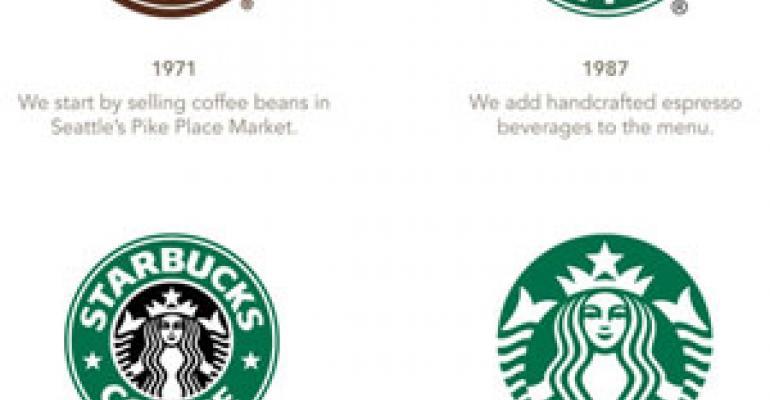 Starbucks unveils new company logo