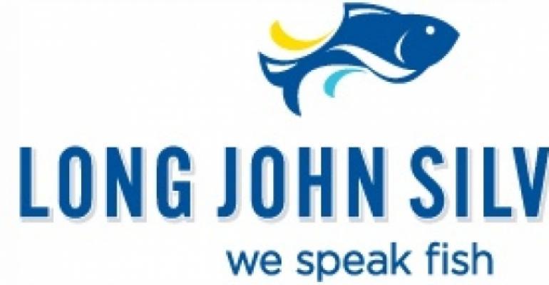 Long John Silver's updates logo, tagline