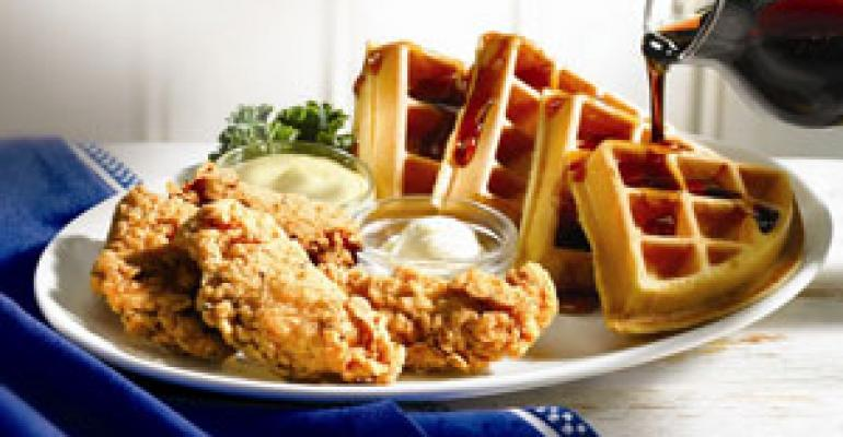 IHOP launches chicken and waffles LTO