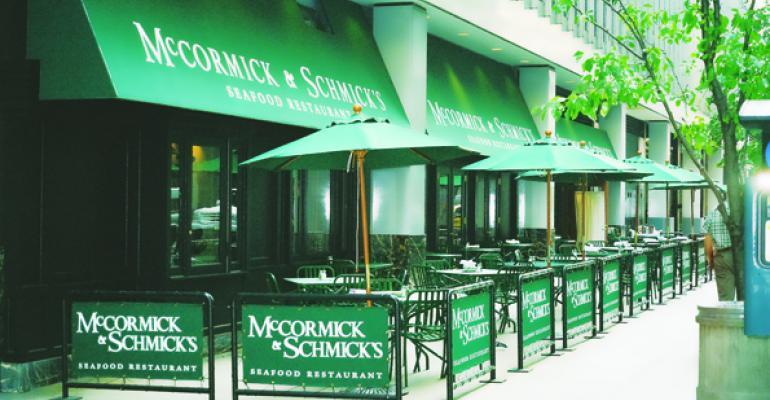 McCormick & Schmick's highlights local fare