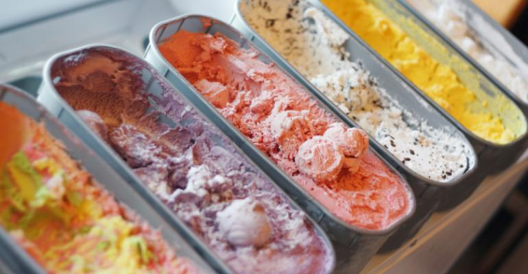 Consumers like options with frozen desserts