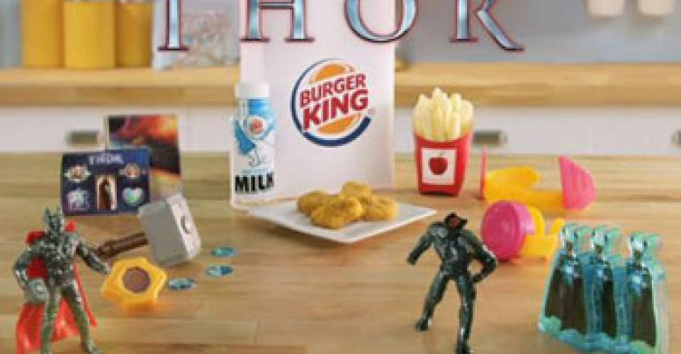 BK targets kids in multimedia campaign