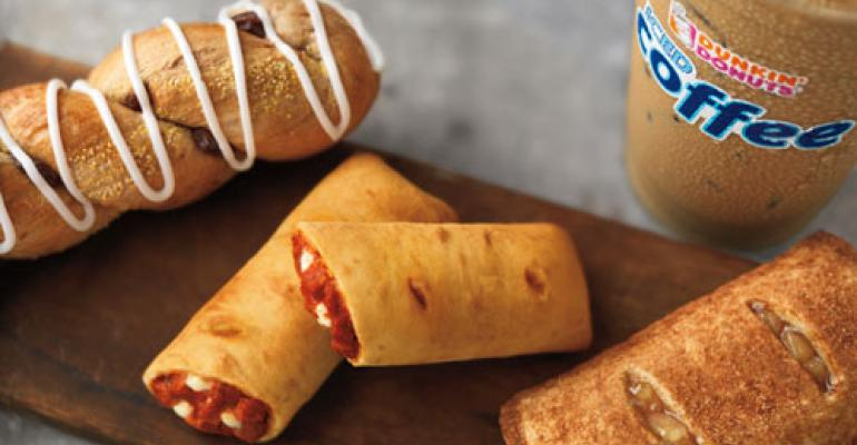 Dunkin' Donuts rolls out snack line