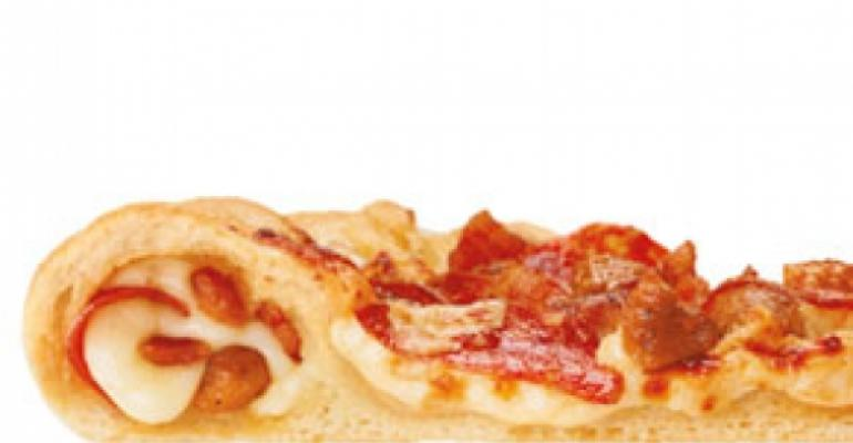 Pizza Hut stuffs toppings into crust
