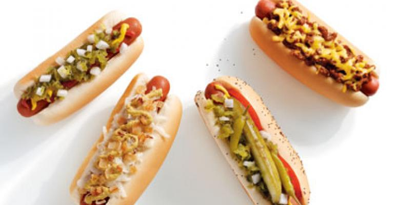 Hot dogs, new ads help Sonic