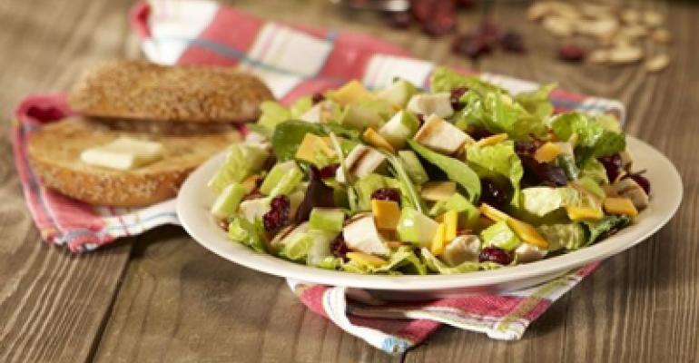 Bruegger's expands low-cal menu with new salads