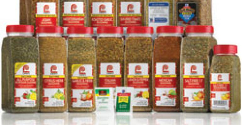 McCormick For Chefs®. NEW Sodium Control Blends.