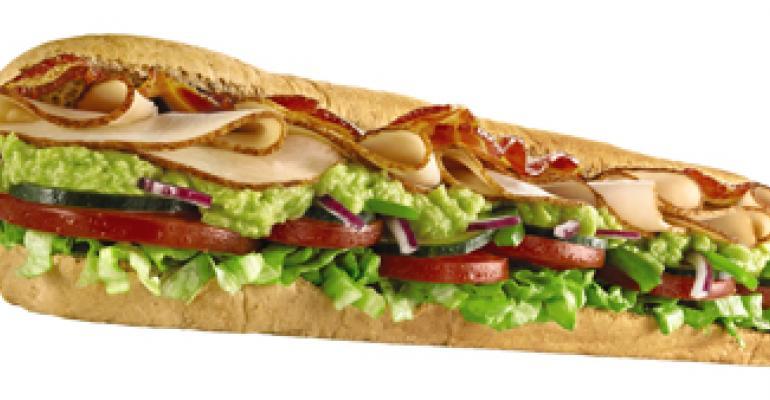 Subway to serve up avocado
