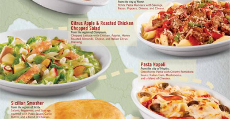 Fazoli's introduces new LTOs and sweepstakes contest